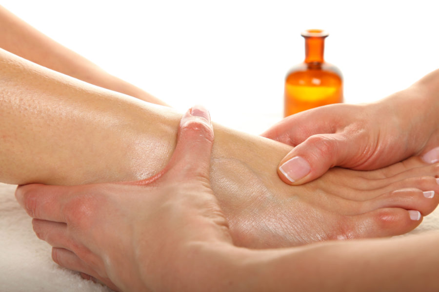 Fuß-Massage
