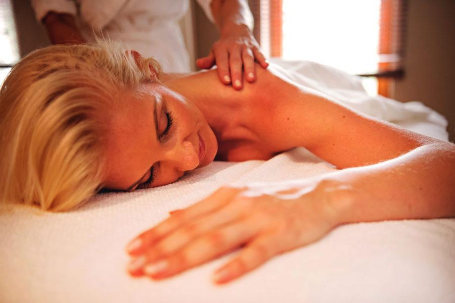 Kopf-Schulter-Nacken-Massage